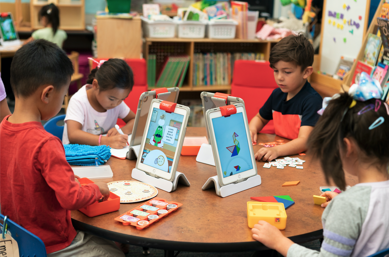 "Osmo for Schools' award-winning educational systems are currently used in over 30,000 North American schools, and the company offers 9 different learning systems, including the popular ""Elementary Learning System - Classroom"" bundle."