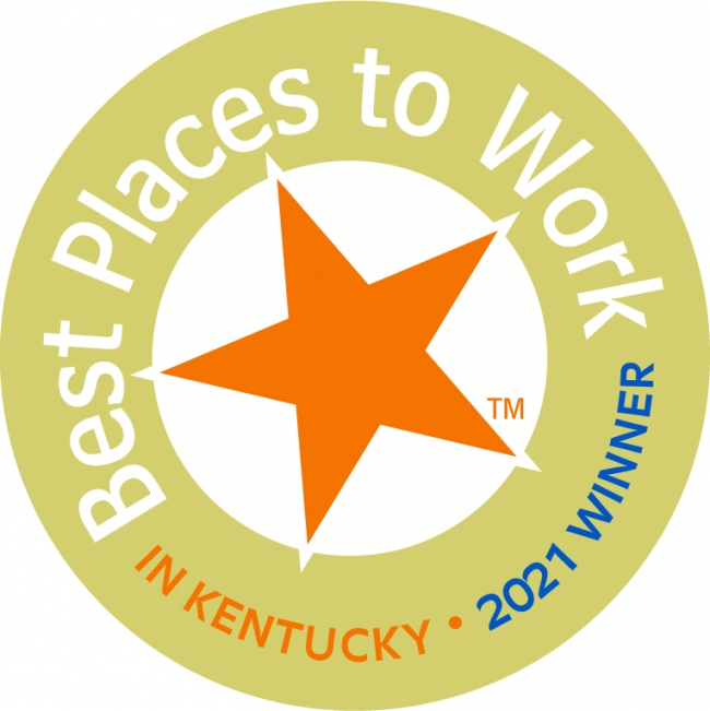 """Booz Allen Ranked #1 Among """"Best Places to Work in Kentucky"""" by the Kentucky Chamber of Commerce and the Kentucky Society for Human Resource Management."""