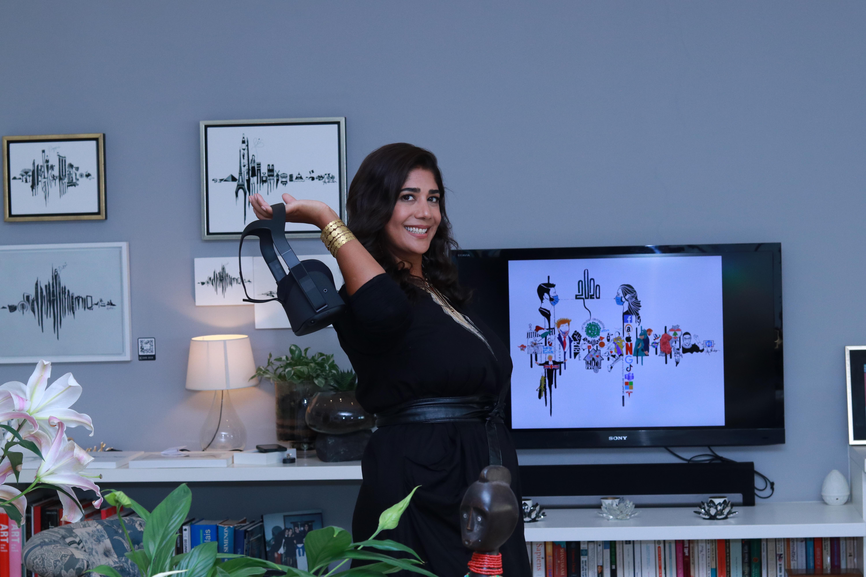 Amrita Sethi at work: Voice Note Art