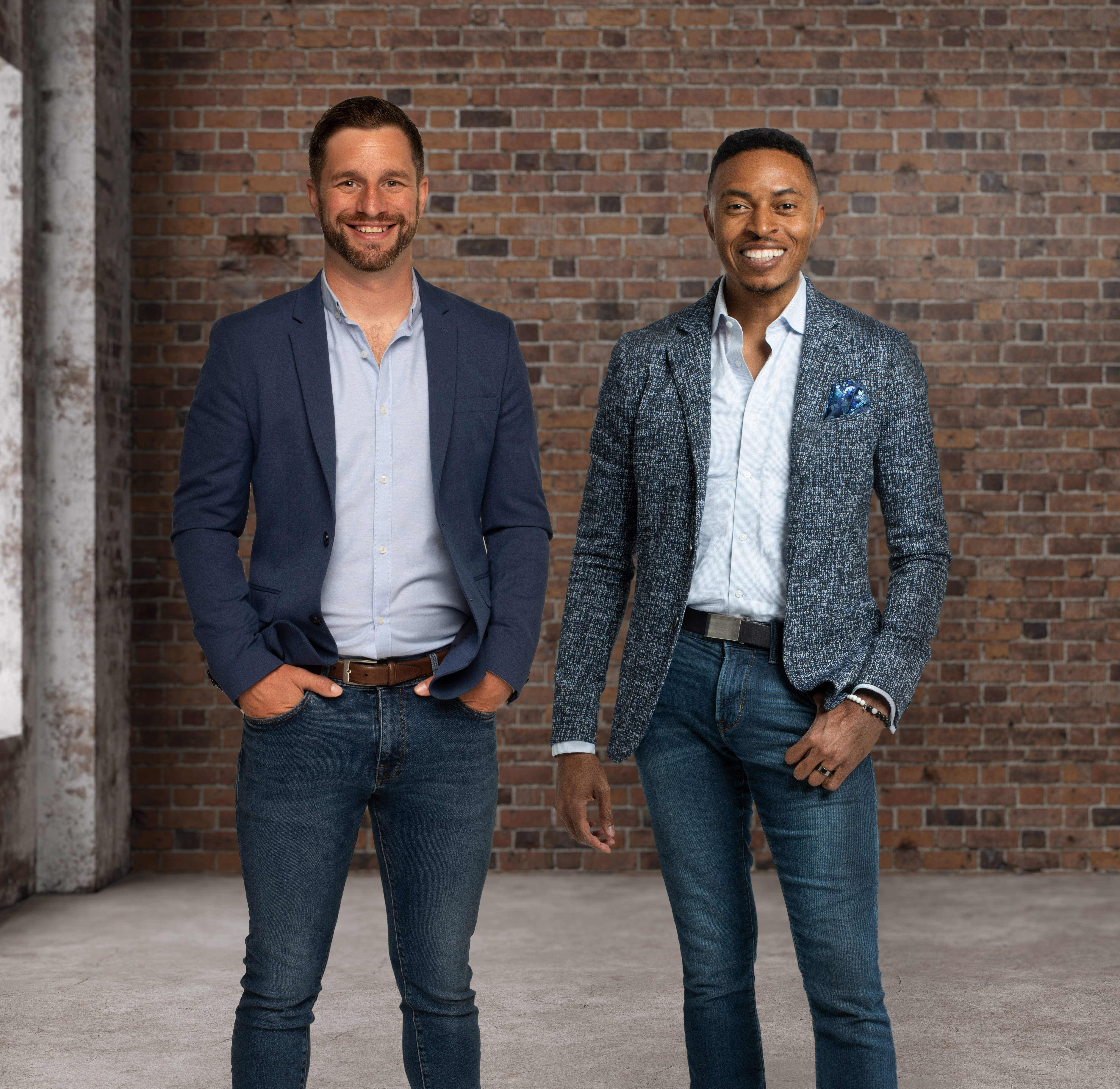 Cyvatar co-founders Craig Goodwin (left) and Corey White (right)