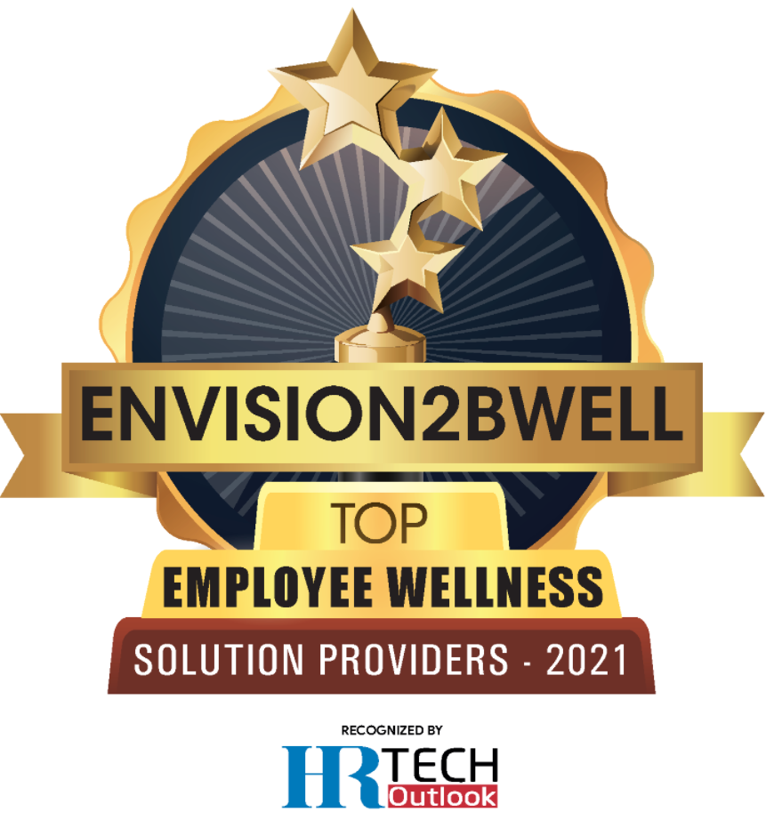 Envision2bWell named Top 10 Employee Wellness Solution Providers by HR Tech Outlook
