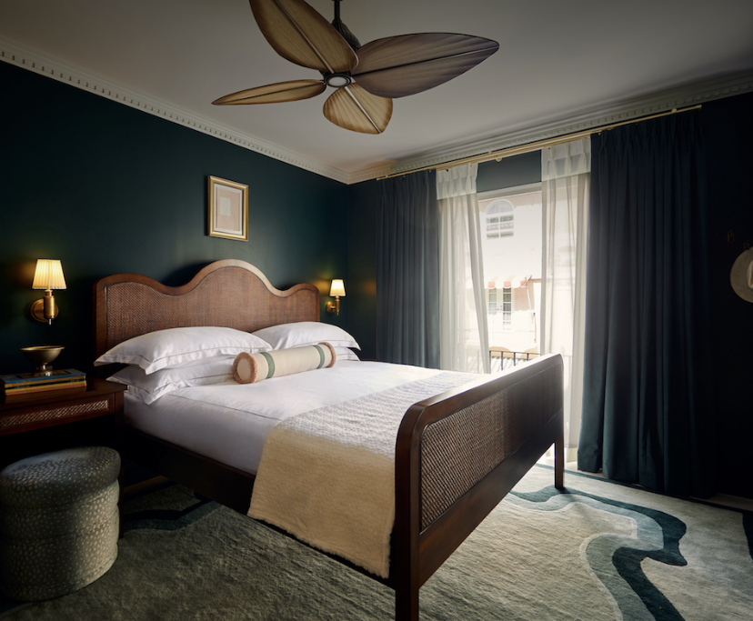 Esmé Miami Beach's chic hotel room with Mattress Concierge's luxurious mattress