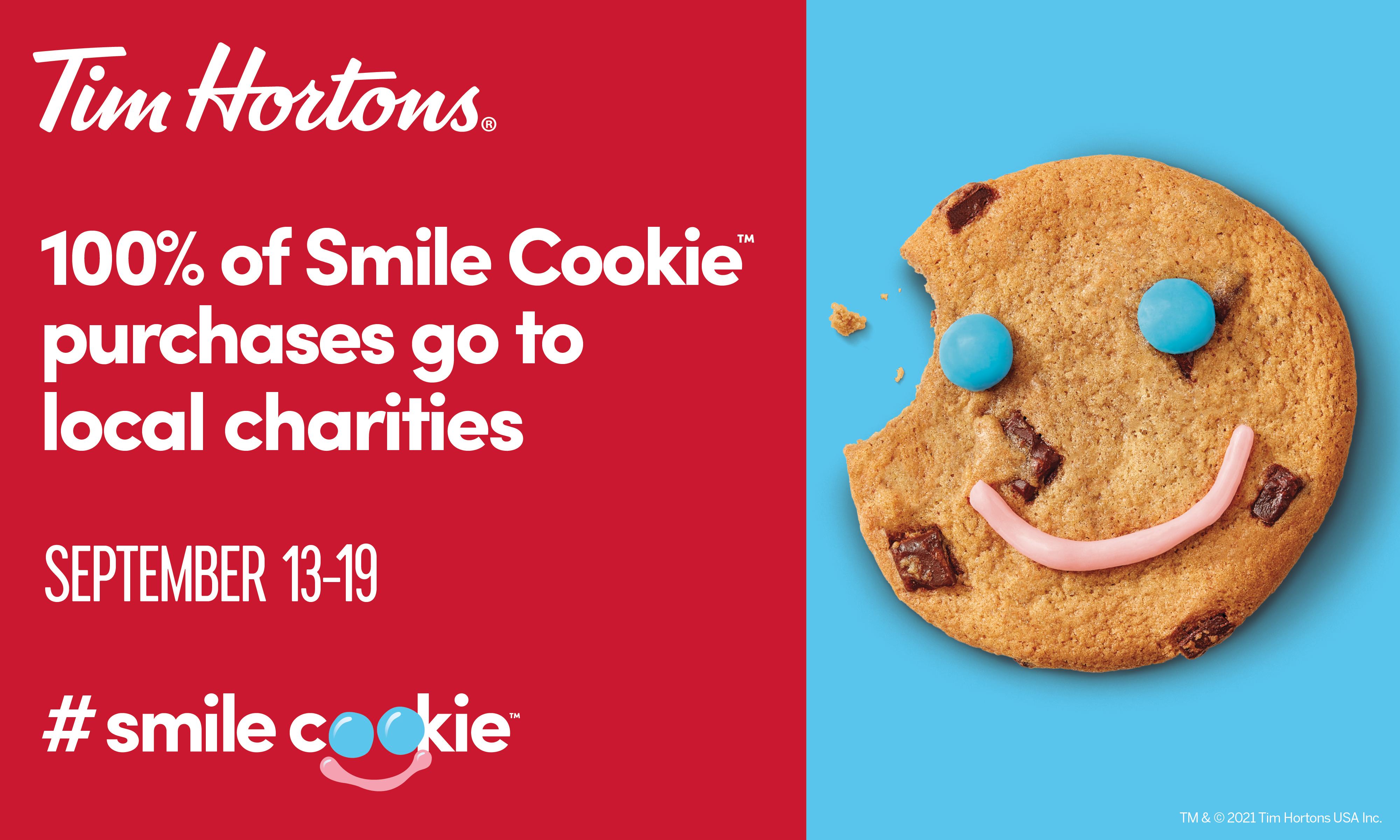 Tim Hortons Smile Cookie