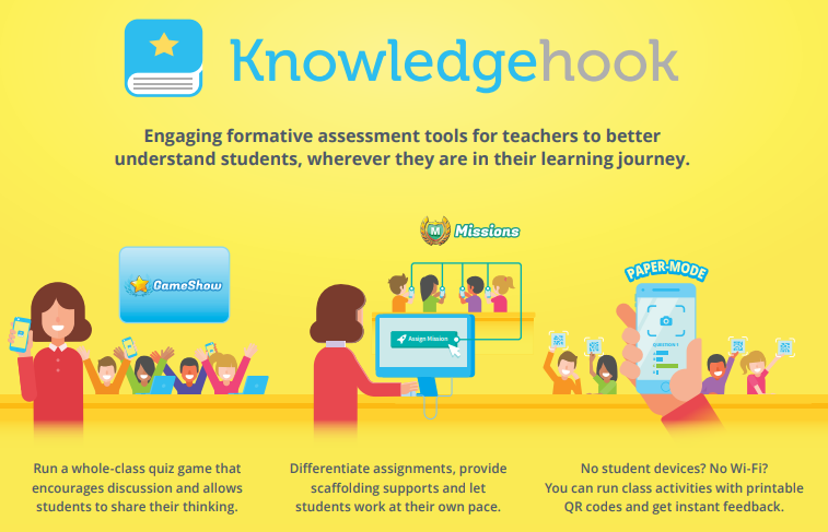 Knowledgehook: enhancing the math learning journey