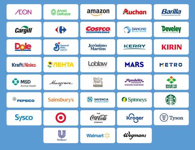 GFSI's 38 Members Represent Some of the Biggest Names in Food & Beverage and Retail
