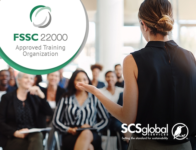 SCS Global Services Approved as FSSC 22000 Training Provider