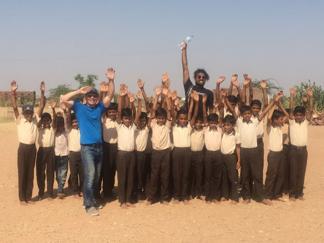 Dan Lindsey, Director of Sales, Traditional Medicinals, travelled to India with the Whole Foods Market Team Member Volunteer Program to dig a tanka which provided water for local families in need.