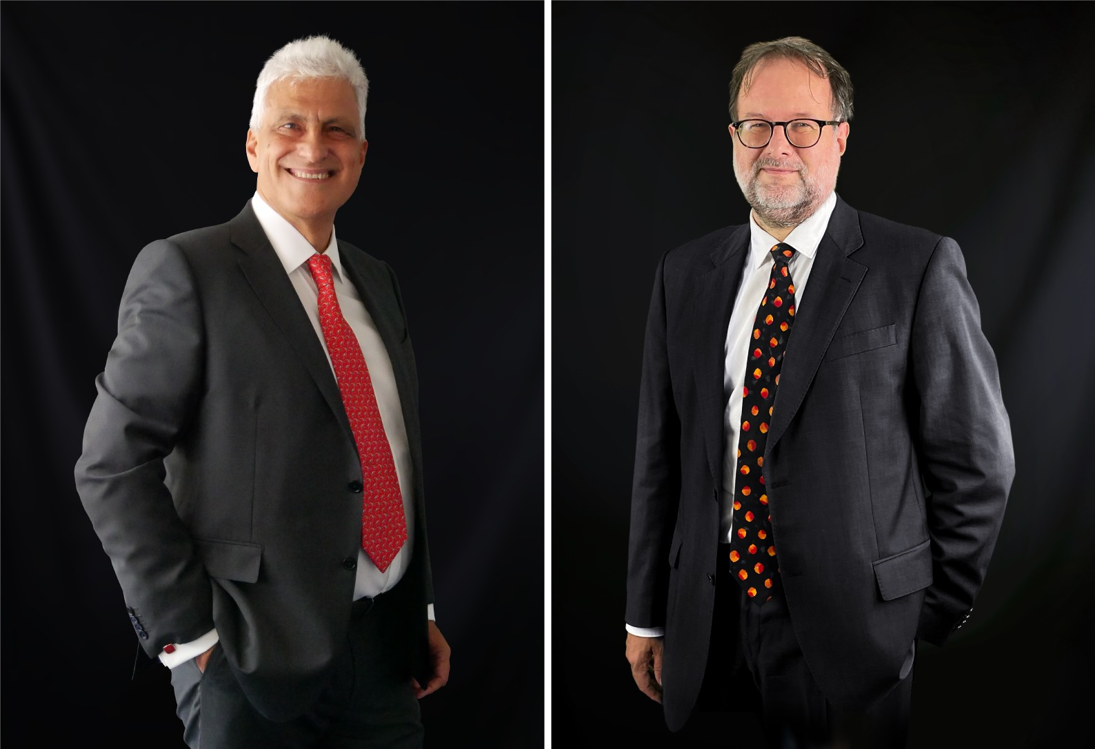 From left to right: Luigi Marciano, CEO and Founder, Objectway Group, and Klaus Friese, Co-owner and Managing Director, Die Software