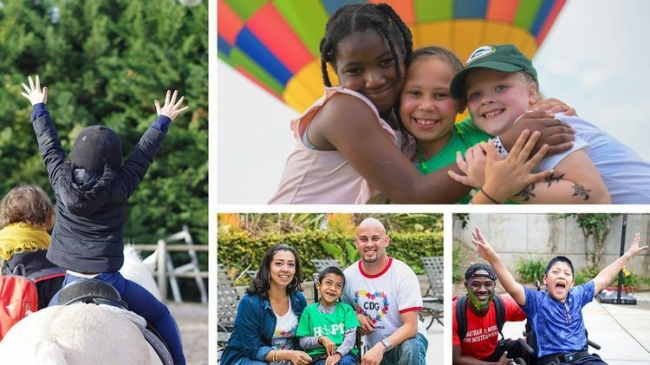 Organizations like Global Genes and SeriousFun Children's Network provide mental health and wellness services for the global rare disease community. Photos courtesy of ACF Grantees SeriousFun Children's Network and Global Genes