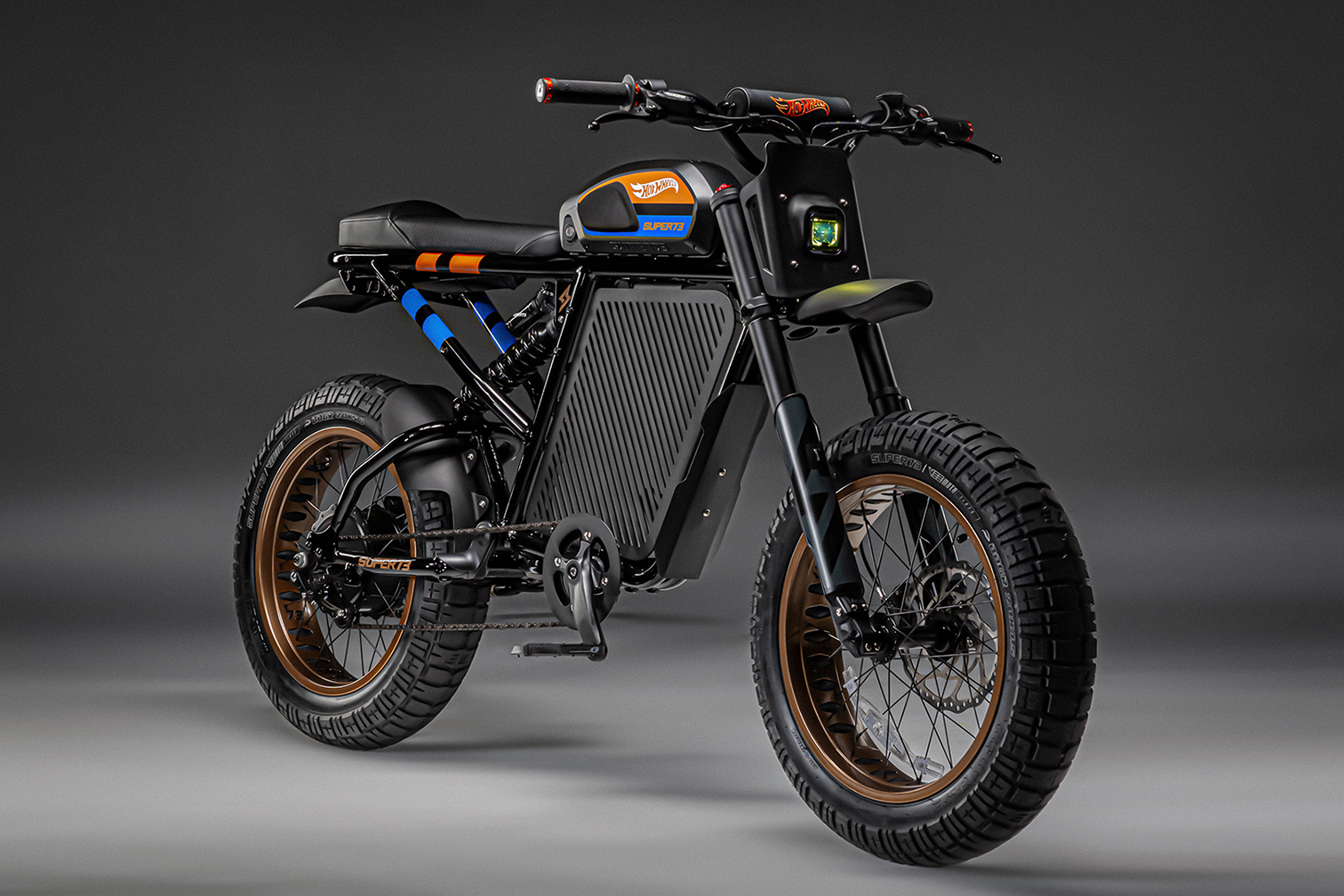 Extremely limited edition Hot Wheels x SUPER73-RX e-bike only available from www.super73.com
