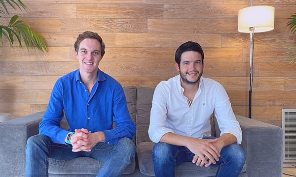 Floe Oral Care founders: Will Welton and Javier Navarro