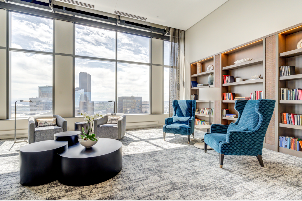 40th Floor Library Lounge