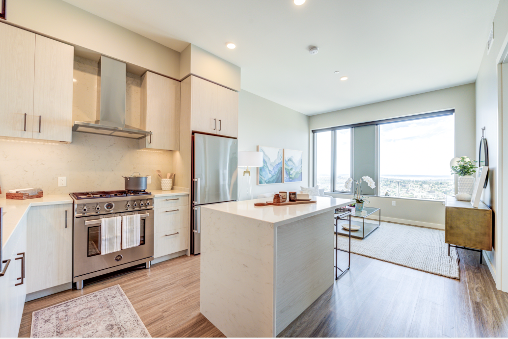 1-Bedroom Home on the 49th Floor